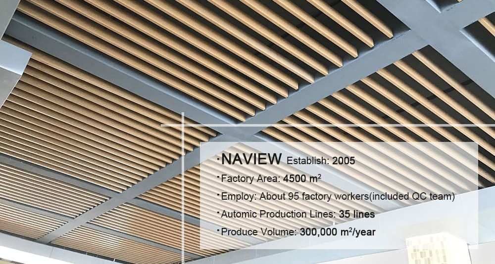 linear ceiling panels 1
