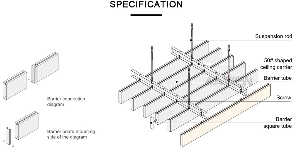 linear ceiling panels 2
