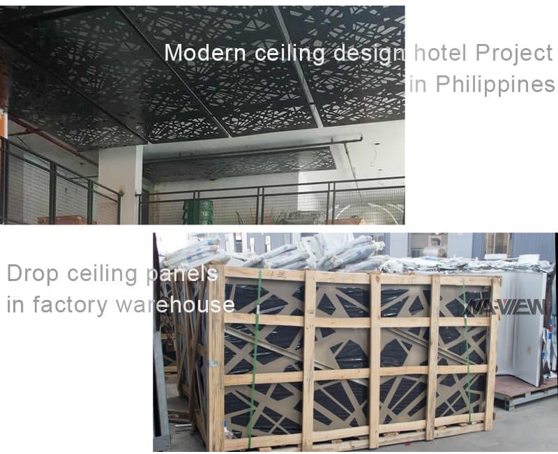 drop ceiling design