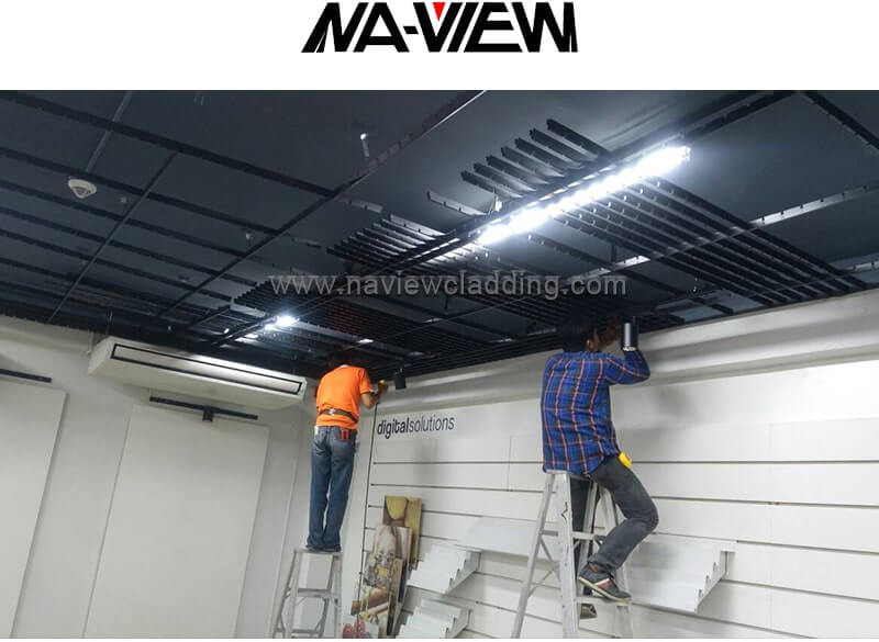 open cell ceiling tiles