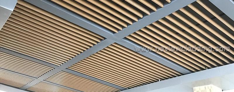 aluminium baffle ceiling